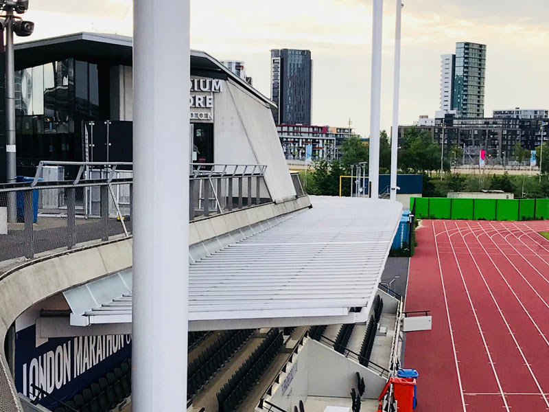 Olympic Stadium Transformation | Rhino Exteriors